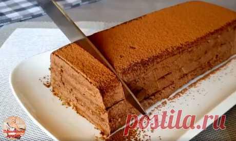 Так просто и так вкусно! Обалденный шоколадный десерт без духовки. | 🔴Прихотливая хозяйка🔴 | Яндекс Дзен