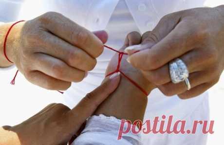 Самый сильный оберег — это красная нить! Узнайте, как правильно её носить! — Бабушкины секреты