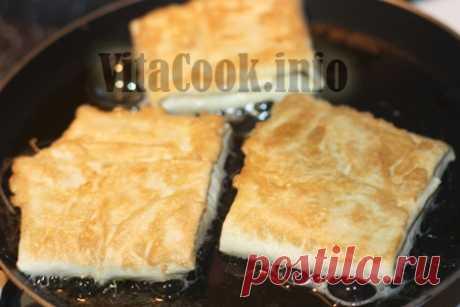 Конвертики из лаваша   Закуска с сырной начинкой из лаваша