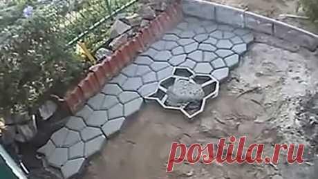 Садовая дорожка (тротуарная плитка) своими руками
