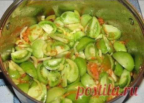 PREPARAMOS VERDE pomidorchiki - 37 recetas