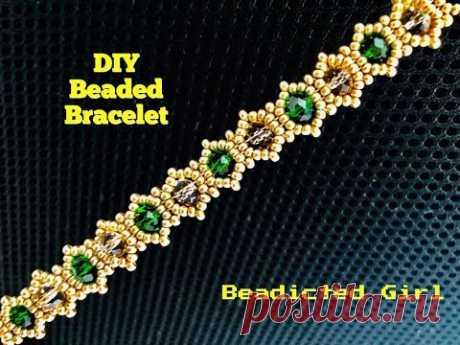 Dainty Bracelet. DIY Beaded Bracelet