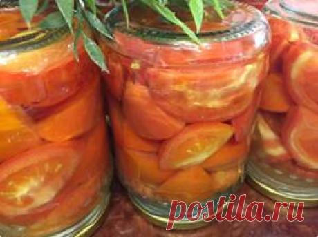 Делала такие помидоры на пробу в прошлом году, получилось вкуснее чем ожидала