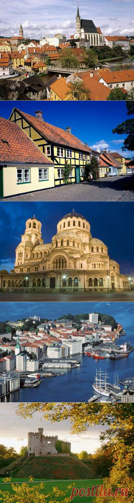 Фотографии Европейских стран