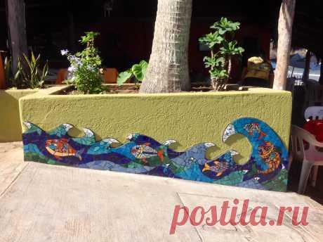 Murals | Mazinka's Mosaics