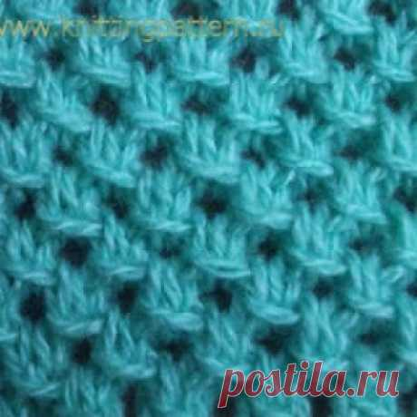 Сохраните в копилочку... Узоры для вязания на спицах — Со снятыми петлями - МирТесен