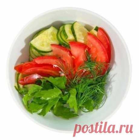 Огуречно-помидорная диета — Полезные советы
