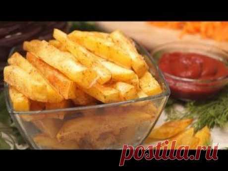 ¡Las patatas del Aceite Frito sin gramo en 10 minutos!