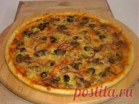 Пицца с овощами – легкие вегетарианские варианты начинок / Простые рецепты