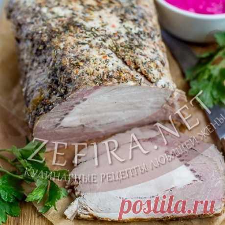 Буженина из свинины в фольге — Кулинарные рецепты любящей жены