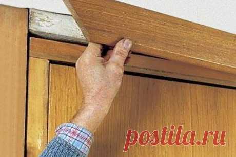 Как установить дверные наличники если стены кривые