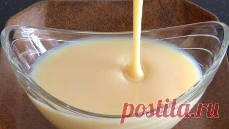 Сгущенка из сухого молока. Рецепт домашней сгущенки.