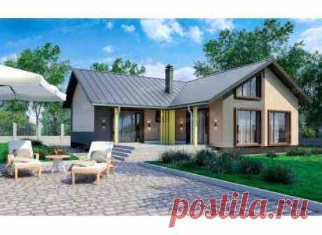 p952fr – проект углового каркасного дома 13 на 12 с совмещенной кухней гостиной до 120 кв м
