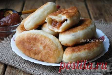 Жареные пирожки с вареньем - 16 пошаговых фото в рецепте