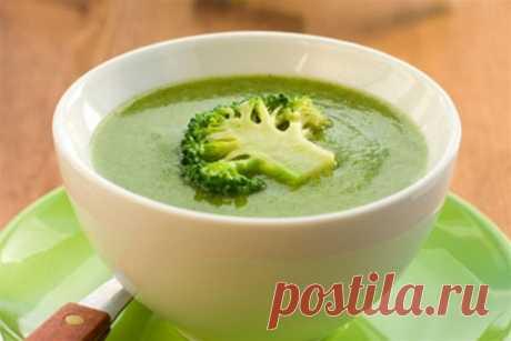 Суп-пюре из брокколи: рецепт вкусного детского супчика