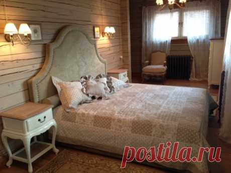 Покрывало и подушки, лен
