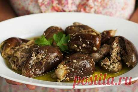 Консервируем баклажан по-грузински на зиму с орехами - Счастливый формат