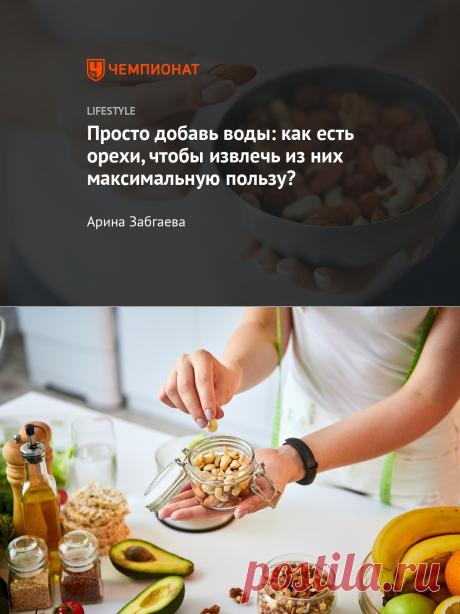 Как правильно есть орехи? Советы, чтобы не навредить здоровью - Чемпионат