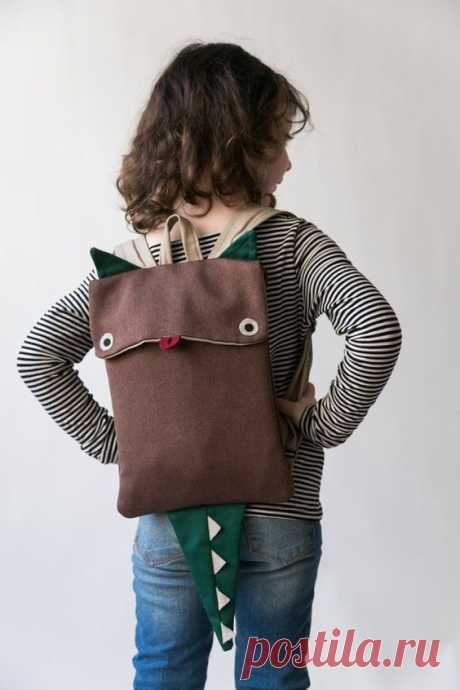 Рюкзаки с хвостом и ушками