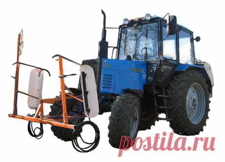 Навесные садовые опрыскиватели для гербицидной обработки ЗУБР НШ ГДС-2 400 и 600 литров бак для трактора, цены
