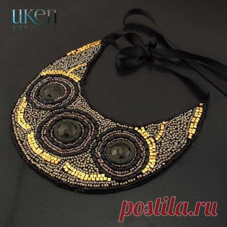 Мода элегантный Boho стиль ручной ошейники нежный ожерелье три смола черный бусины подвески женщины ювелирные изделия N3414 купить на AliExpress