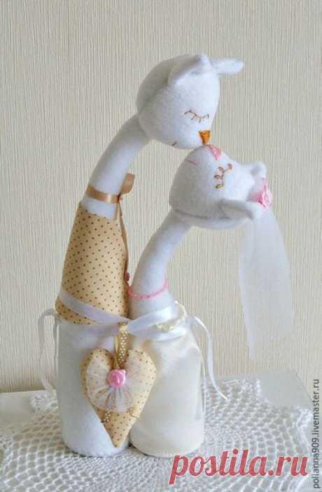 Влюбленные котики — Сделай сам, идеи для творчества - DIY Ideas