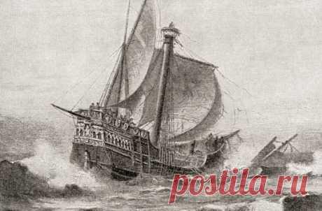Испанцы создали самую полную карту кораблей с сокровищами затонувших за 4 века