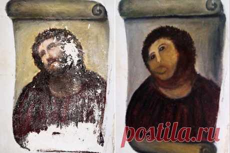 Иисус или картофелина? Как испорченная фреска обогатила целый город В последние годы испанский город Борха стал жить заметно лучше. Казну пополняют туристы, приезжающие сюда круглый год. Все они хотят своими глазами