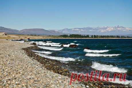 Лазурь и мрамор озера Буэнос-Айрес — Хенераль Каррера