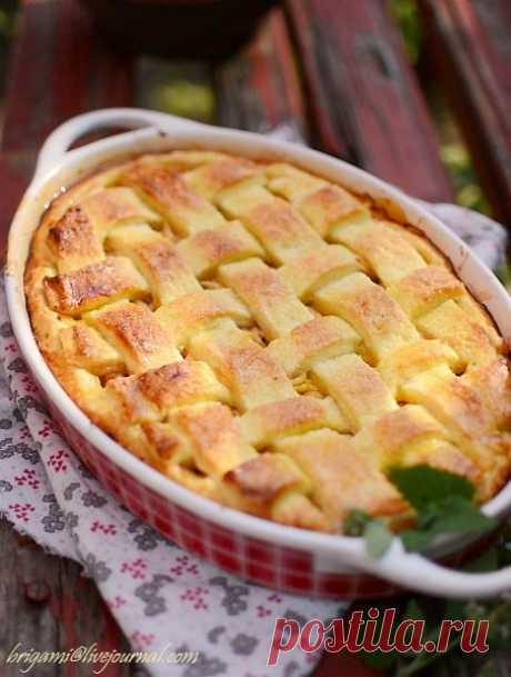 Веб Повар!: Яблочный именинный пирог.