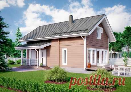 Редкий комфортный дом для жизни для 3-4 человек | Проекты Домов. Строительство. | Яндекс Дзен