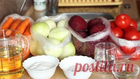 Зимой не покупаю продукты для борща, потому что в сентябре готовлю борщевку. 2 рецепта свекольной заправки на зиму | IrinaCooking | Яндекс Дзен