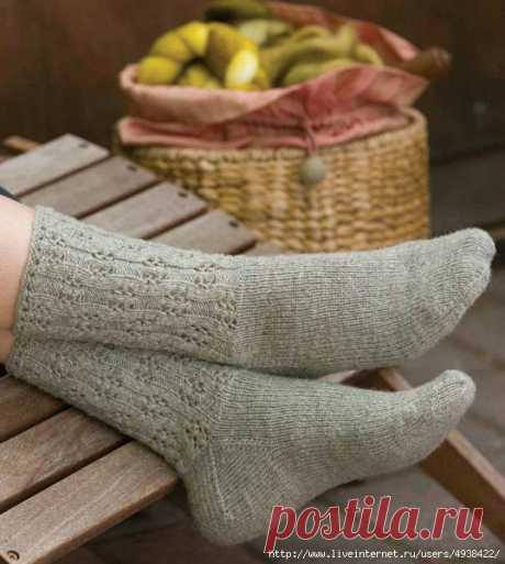 Женские носки «Eyelet Socks»