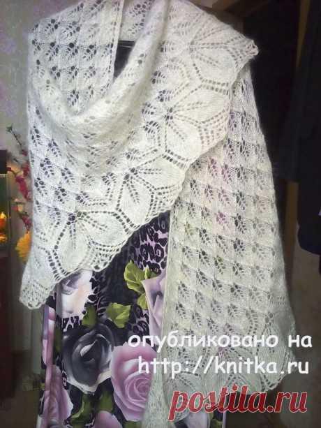 Шаль Харуни спицами. Работа Раушании Уметбаевой, Вязание для женщин