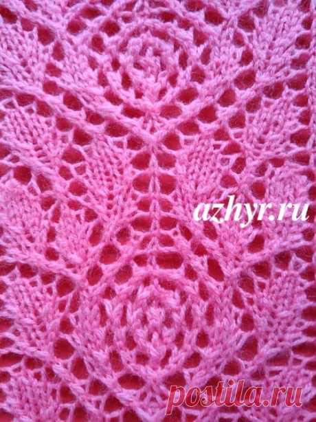 La cinta de la rosa por los rayos - el esquema | AZHUR - el esquema de las cintas