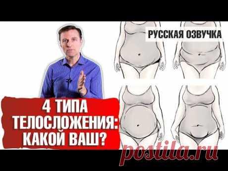 (4) 4 типа телосложения: какой ваш? (русская озвучка) - YouTube