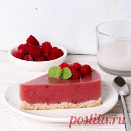 Малиново-кокосовый торт без выпечки! | kiwihealthy | Яндекс Дзен