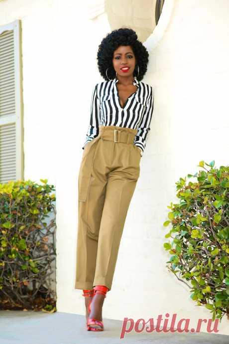 Look! Folake Kuye Huntoon - брюки — Модно / Nemodno