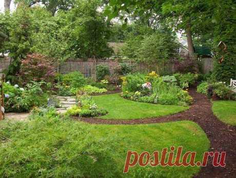 Какие садовые дорожки сделать на даче или участке (35 фото) Нужны идеи, чтобы сделать красивые садовые дорожки? Взгляните на эти 35 фото дорожек из цемента, камня, плитки и других материалов!
