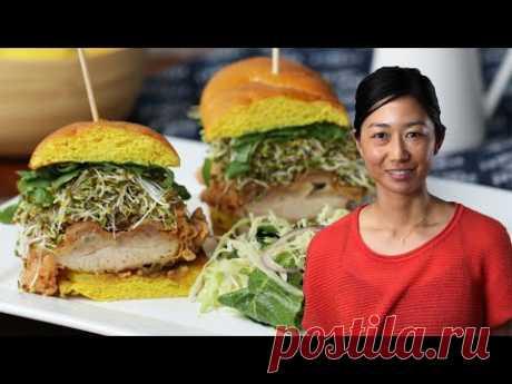 Golden Chicken Sandwich As Made By Chef Kuniko Yagi • Tasty
