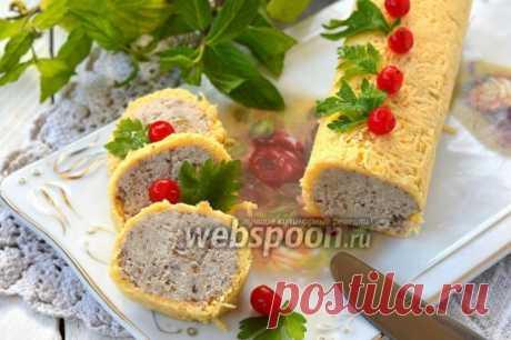 Куриный рулет в сырной оболочке - запись пользователя Tamara15 (Tamara) в сообществе Болталка в категории Кулинария