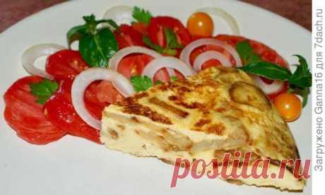 Тортилья или Испанский омлет - пошаговый рецепт приготовления с фото