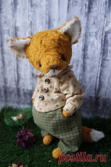 Кукольный мир: выкройки, одежда, миниатюра Лисёнок Матвейка с выкройкой одежды
