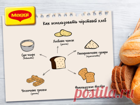 Не спешите выбрасывать чёрствый хлеб, ведь с ним можно приготовить ещё множество блюд. Самыми удачными идеями делимся с вами!