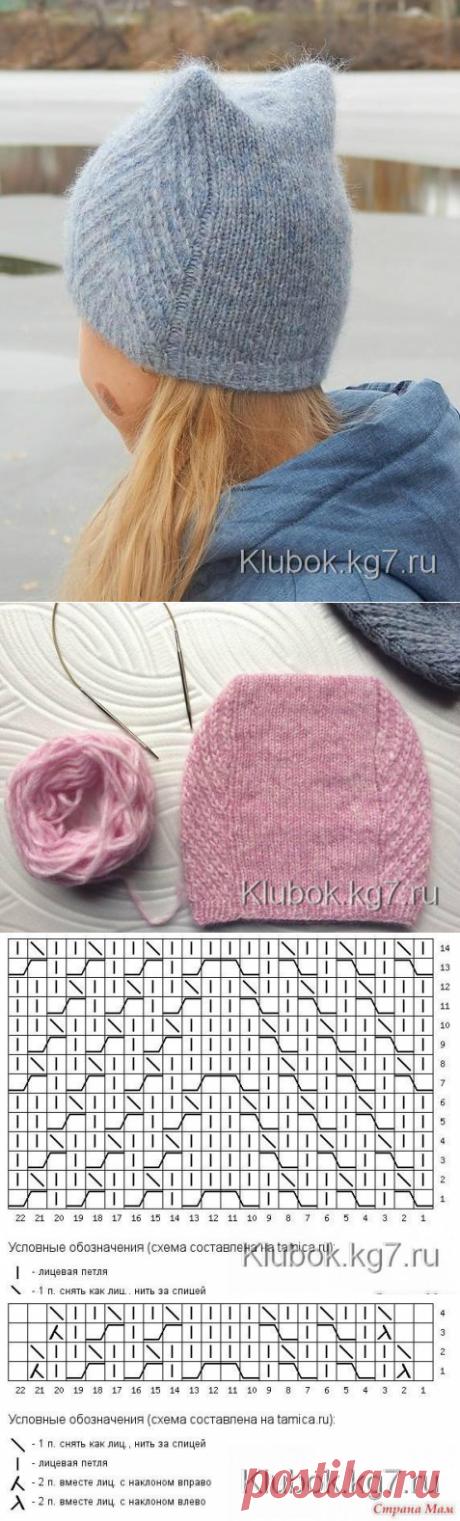 "Шапочка ""Meow Meow Hat""by Tanya Mulokas"