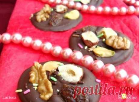 шоколадные мендалины