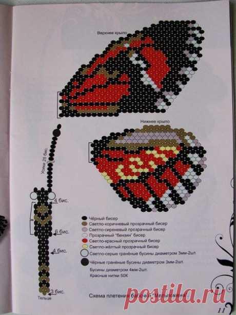 Gallery.ru / Фото #97 - текстильные и бисерные броши-2 - Vladikana