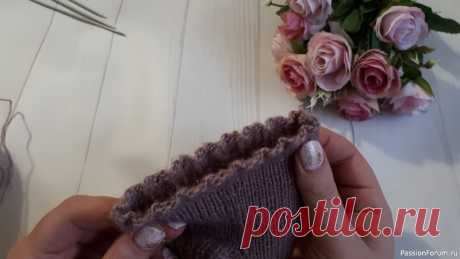 Супер эластичный набор петель / Как набрать петли для эластичной  резинки/ Лучший набор петель | Вязание для женщин спицами. Схемы вязания спицами Супер эластичный набор петель вполне может быть легким, об этом рассказываю в видео.