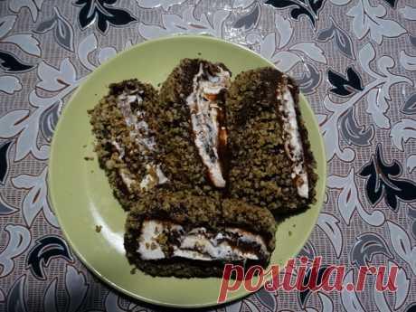 Шоколадный турецкий десерт без выпечки