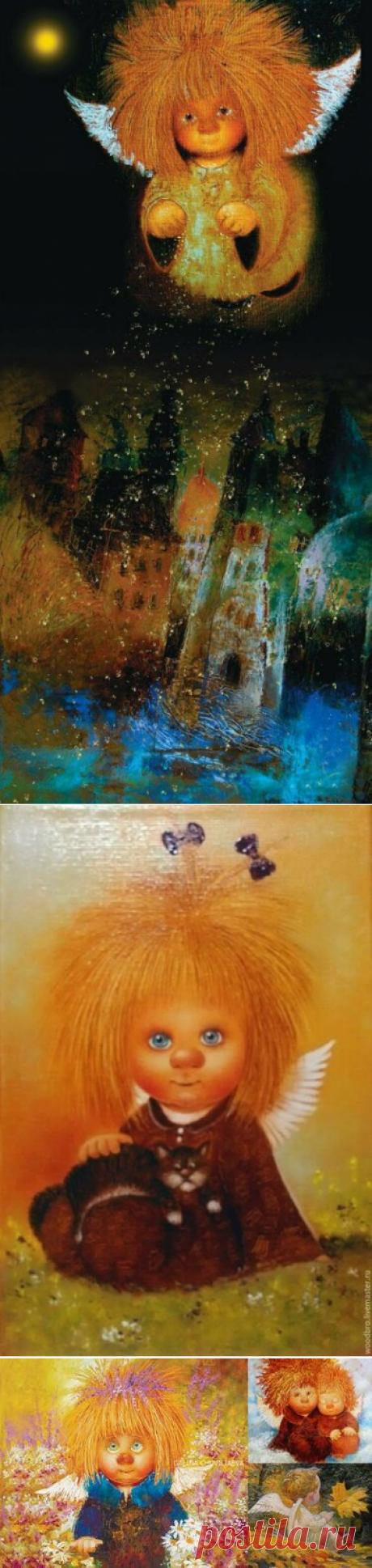 28 карточек в коллекции «Рыжие ангелы Галины и Люси Чувиляевых» пользователя Natalia C. в Яндекс.Коллекциях